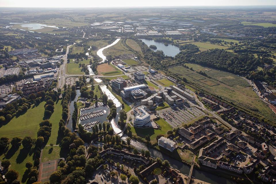 New campus at the University of Northampton