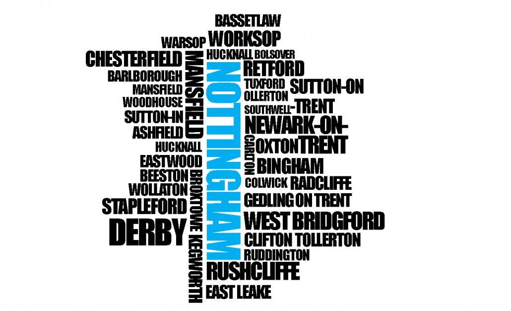 Nottingham Map