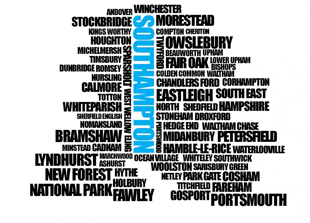 Southampton Map