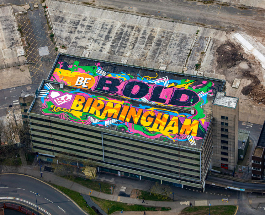 birmingham aerial photography